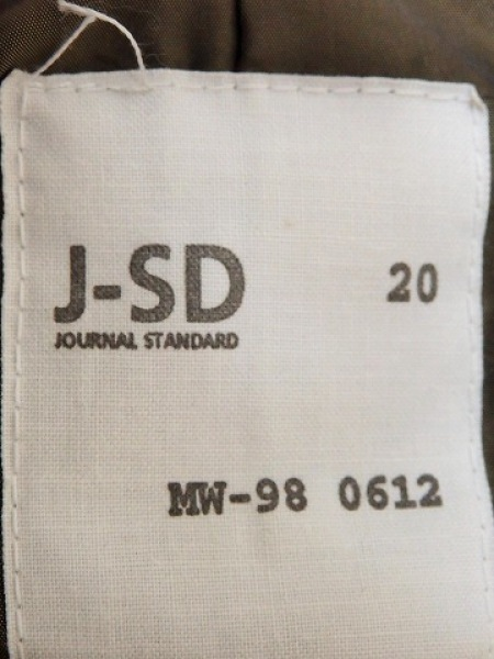 JOURNALSTANDARD(ジャーナルスタンダード) ブルゾン レディース カーキ 冬物
