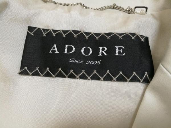 ADORE(アドーア) コート レディース 531-152257 ライトグレー 冬物