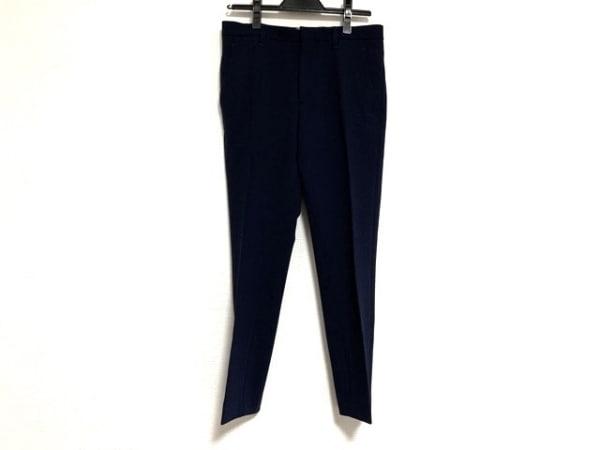 ENFOLD(エンフォルド) パンツ サイズ36 S レディース ネイビー ストレッチ