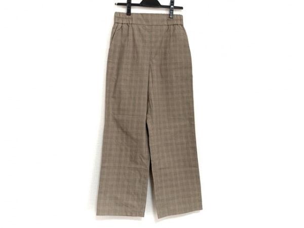 Ron Herman(ロンハーマン) パンツ サイズXS レディース ブラウン×アイボリー×マルチ