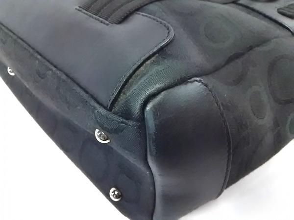 サルバトーレフェラガモ ハンドバッグ ガンチーニ 黒 7