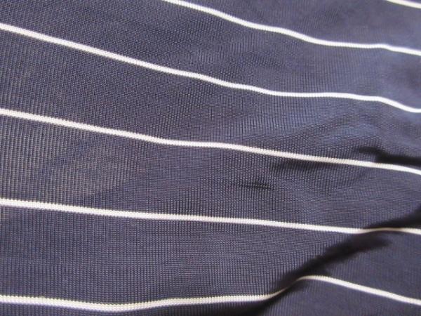 Max Mara(マックスマーラ) 七分袖カットソー サイズS レディース ネイビー×白