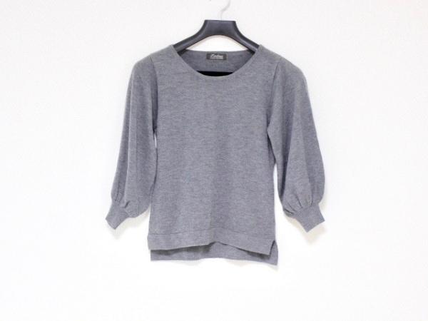 Tiaclasse(ティアクラッセ) 長袖セーター サイズM レディース グレー