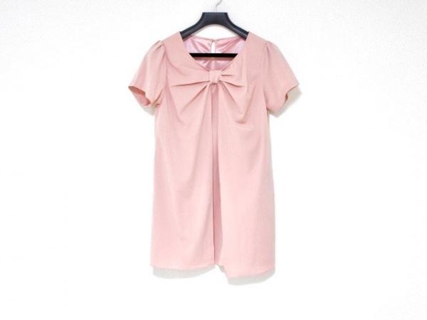 Tiaclasse(ティアクラッセ) チュニック サイズM レディース美品  ピンク リボン