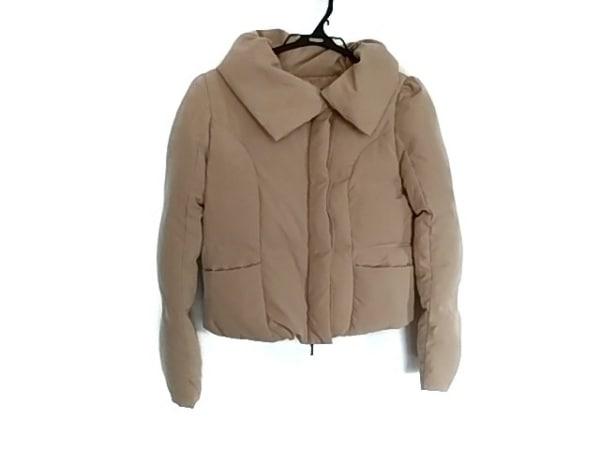Tiaclasse(ティアクラッセ) ダウンジャケット サイズM レディース ベージュ 冬物