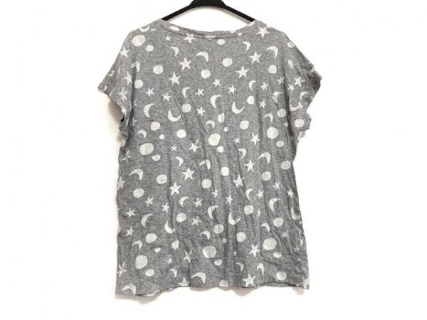 ポールスミス 半袖Tシャツ サイズM レディース美品  ライトグレー×白 スター