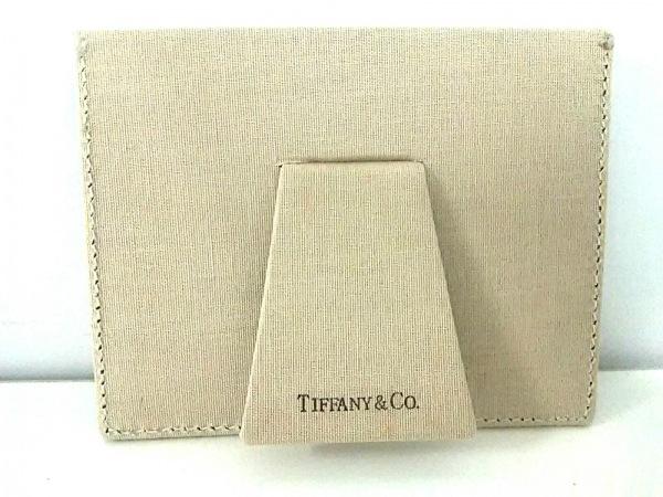 TIFFANY&Co.(ティファニー) 小物美品  ライトブルー 写真立て レザー
