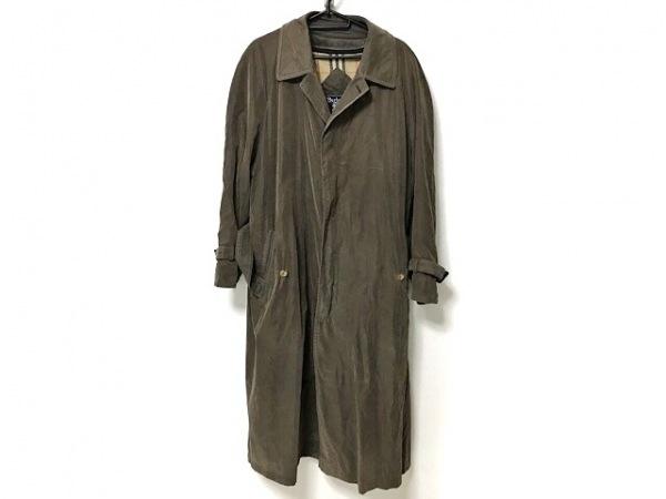 Burberry's(バーバリーズ) コート メンズ カーキ ネーム刺繍/冬物