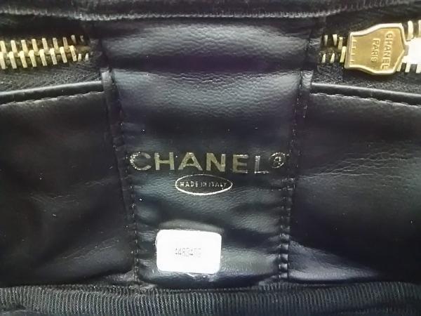 CHANEL(シャネル) バニティバッグ - 黒 ココマーク/ゴールド金具 6