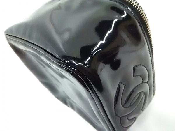 CHANEL(シャネル) バニティバッグ - 黒 ココマーク/ゴールド金具 7