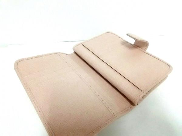 FURLA(フルラ) 2つ折り財布 ピンクベージュ レザー