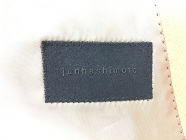 jun hashimoto(ジュンハシモト) コート サイズ3 L メンズ美品  ライトブラウン 冬物