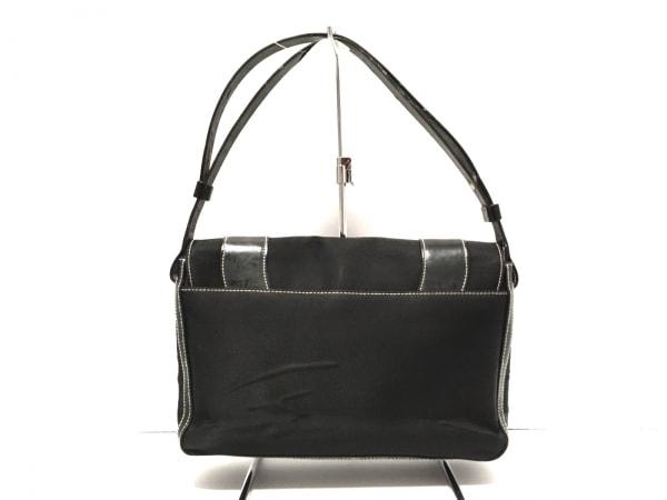 GIVENCHY(ジバンシー) ハンドバッグ - 黒 ジャガード×レザー