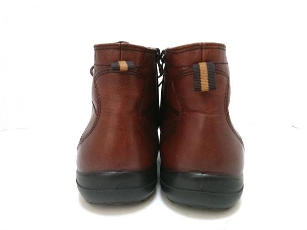 HUSH PUPPIES(ハッシュパピーズ) ブーツ 9.5 メンズ ダークブラウン レザー
