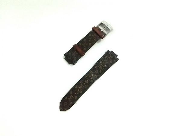 ルイヴィトン 小物美品  R15535 ダークブラウン×ベージュ モノグラムキャンバス