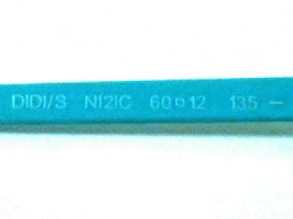 ジミーチュウ サングラス DIDI/S 黒×ライトブルー プラスチック×金属素材