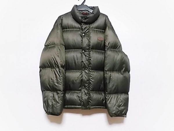 ハッシュパピーズ ダウンジャケット サイズL メンズ - - カーキ 長袖/キルティング/冬