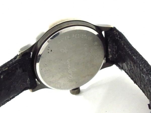 agnes b(アニエスベー) 腕時計 Y483-0120 レディース ダークグレー