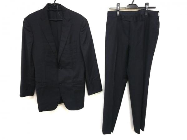 インターナショナルギャラリービームス シングルスーツ サイズ48 XL メンズ 黒
