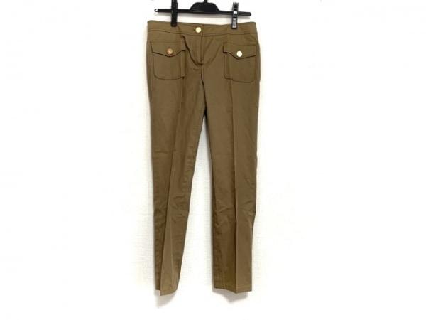 TORY BURCH(トリーバーチ) パンツ サイズ2 S レディース ライトブラウン