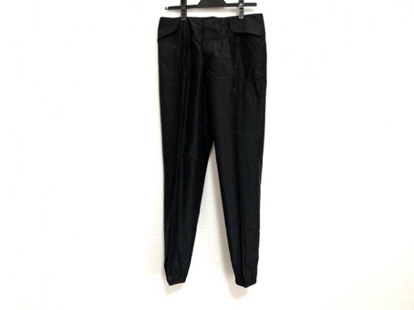 PRADA(プラダ) パンツ サイズ38 S レディース 黒 シルク混
