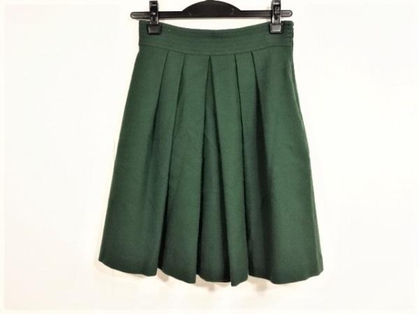 JUSGLITTY(ジャスグリッティー) ミニスカート サイズ0 XS レディース ダークグリーン