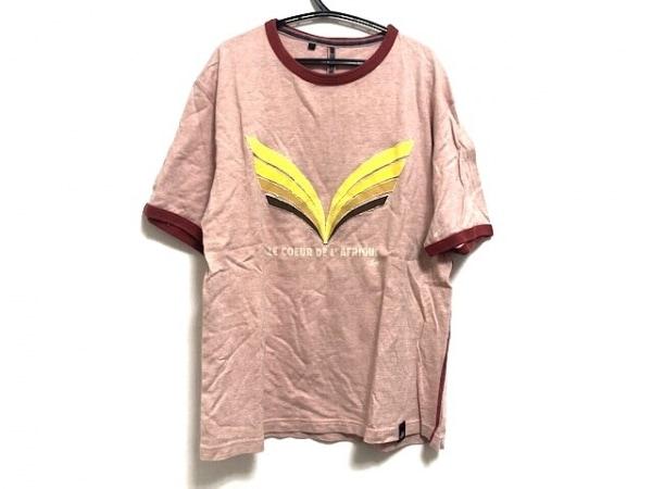 ポールスミスレッドイヤー 半袖Tシャツ サイズM メンズ オレンジ×イエロー×マルチ