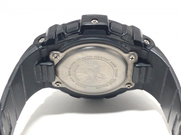 CASIO(カシオ) 腕時計 Baby-G BLX-100 レディース ラバーベルト ピンクゴールド