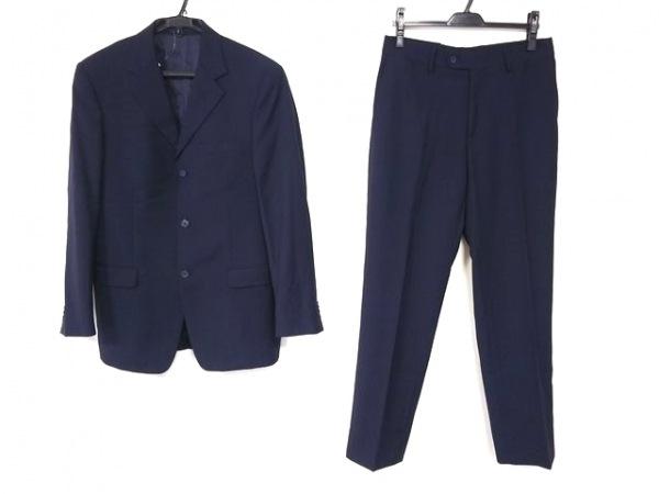 ヴェルサーチクラシック シングルスーツ サイズ48 XL メンズ - - ネイビー