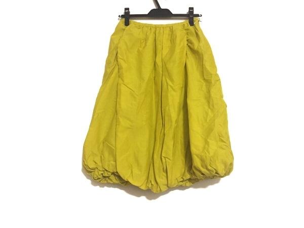 ミナペルホネン スカート サイズ38 M レディース イエローグリーン