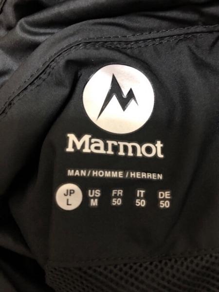 Marmot(マーモット) パーカー サイズL メンズ美品  黒 ジップアップ