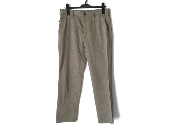 ポールスミス パンツ サイズ82 メンズ ダークブラウン×マルチ×ダークグレー