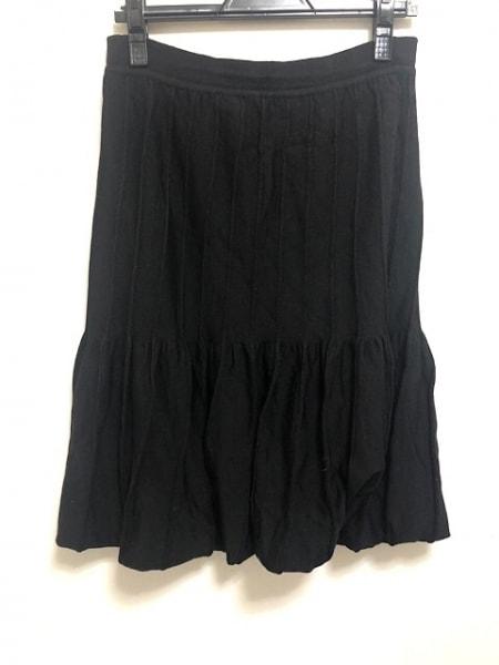 CIVIDINI(チヴィディーニ) スカート サイズ42 M レディース 黒 ニット