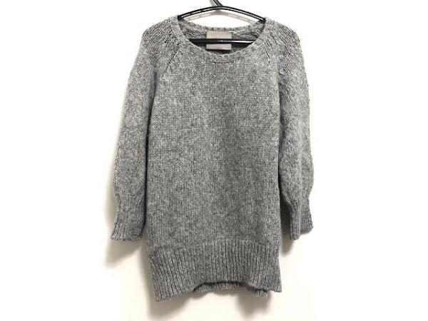 VONDEL(フォンデル) 七分袖セーター サイズS レディース ライトグレー
