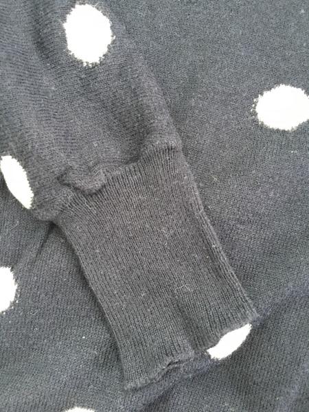 ジャスグリッティー 七分袖セーター サイズ2 M レディース ドット柄/リボン