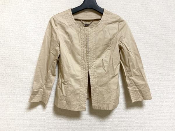 ReFLEcT(リフレクト) ジャケット サイズ7 S レディース美品  ベージュ
