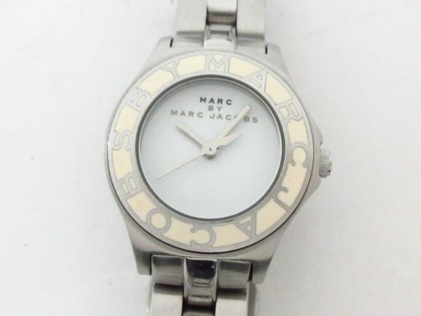MARC BY MARC JACOBS(マークジェイコブス) 腕時計美品  MBM3049 レディース 白