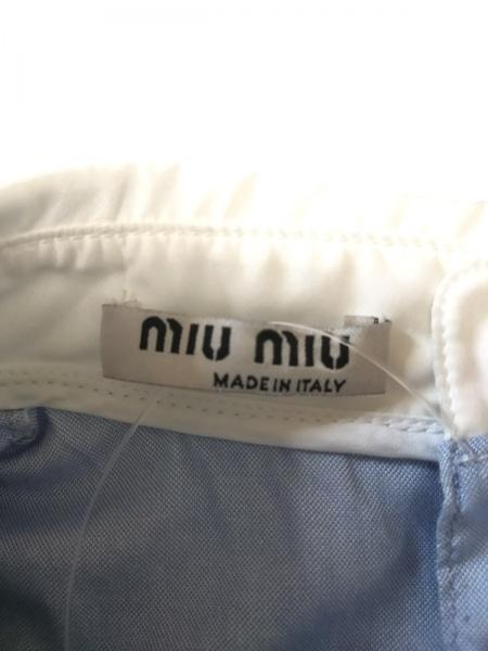 miumiu(ミュウミュウ) ノースリーブカットソー サイズ38 S レディース美品  2015年