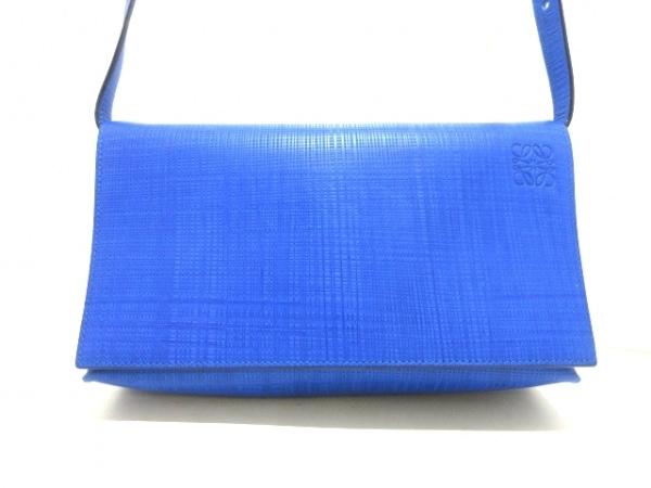 LOEWE(ロエベ) ショルダーバッグ - 101.79.L55 ブルー レザー