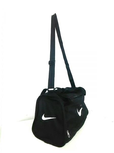 NIKE(ナイキ) ボストンバッグ新品同様  黒×白 ナイロン