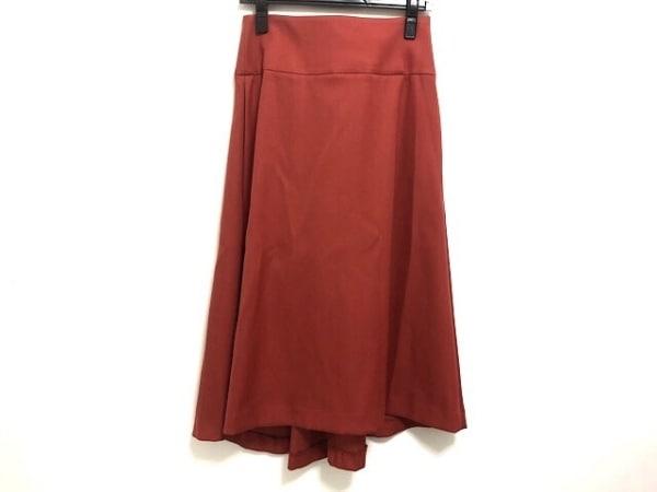 DRESSTERIOR(ドレステリア) ロングスカート サイズ36 S レディース美品  レッド