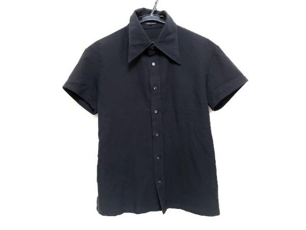 5351 PourLesHomme(5351プールオム) 半袖シャツ サイズ3 L メンズ 黒
