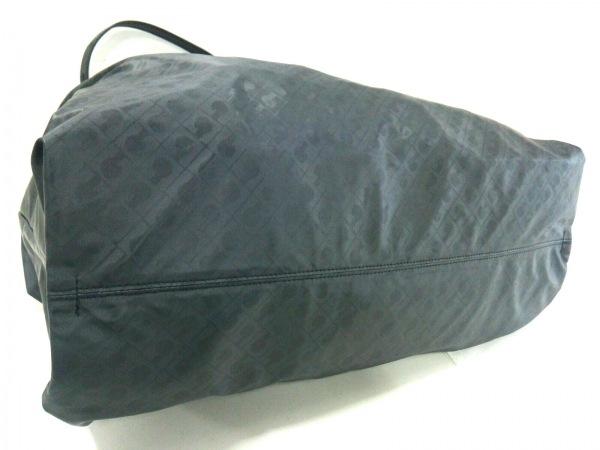 GHERARDINI(ゲラルディーニ) ボストンバッグ 黒 2way PVC(塩化ビニール)×レザー
