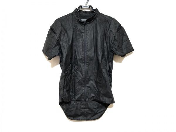 5351プールオム ブルゾン サイズF メンズ美品  黒 ジップアップ/春・秋物