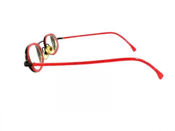 ALAIN MIKLI(アランミクリ) メガネ レッド×黒 度入り プラスチック