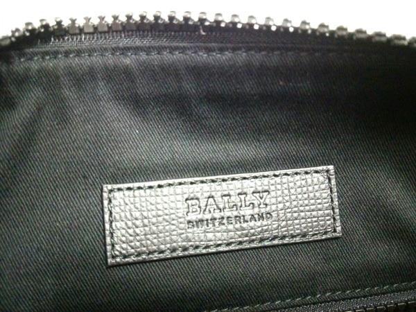 バリー ショルダーバッグ美品  6224073 黒×ボルドー×アイボリー 7