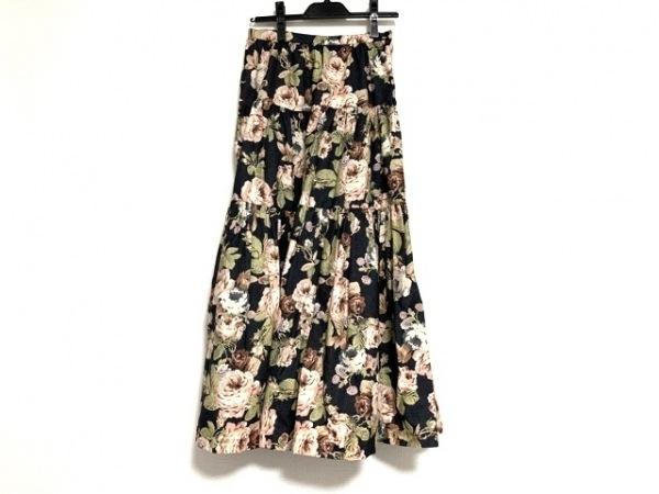 INGEBORG(インゲボルグ) ロングスカート サイズL レディース美品  花柄