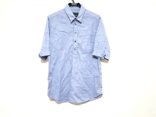 ドルチェアンドガッバーナ 半袖シャツ サイズ15 3/4 /40 メンズ美品  ライトブルー
