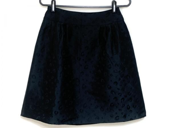 Austin Reed(オースチンリード) スカート サイズ38 L レディース 黒 豹柄
