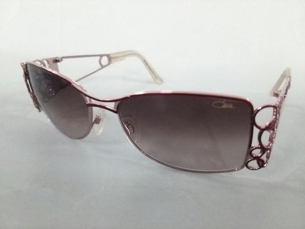 CAZAL(カザール) サングラス美品  9008 ダークブラウン×ボルドー×ピンクシルバー